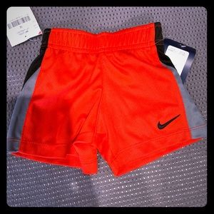 NWT NIKE Basketball Shorts- 12 Months